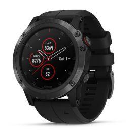 fenix 5X Plus schwarzes Armband
