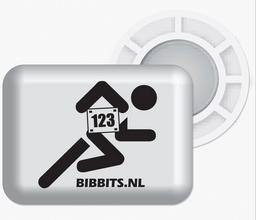 BibBits Startnummernhalter magnetisch