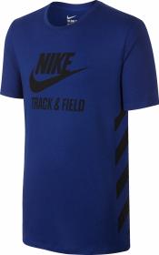 Shirt Track&Field Chill Blau Herren
