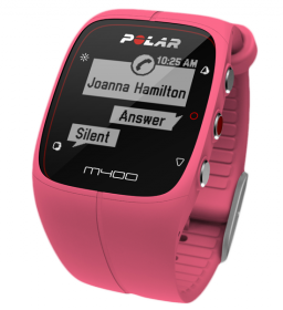 M400 Pink + Herzfrequenzgurt