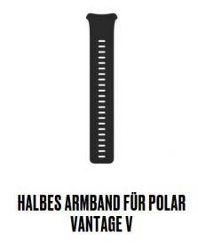 Vantage V halbes Armband Gr.S Schwarz