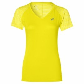 fuzeX V-NECK SS TOP Damen