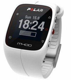 M400 Weiß HR  inkl. Herzfrequenzgurt