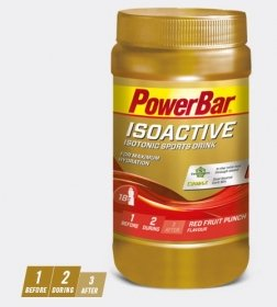 ISOACTIVE Red Fruit Punch 600g Dose