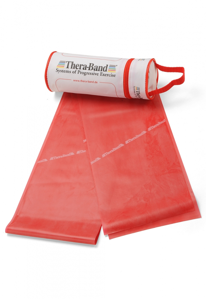 Thera-Band Übungsband 2,5m Rot