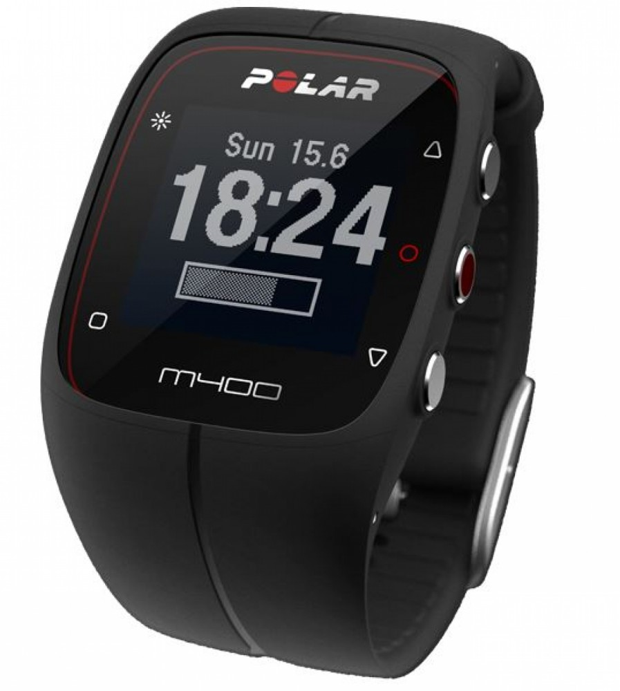 M400 Schwarz HR inkl. Herzfrequenzgurt