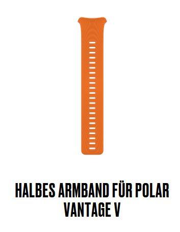 Vantage V halbes Armband Gr.S Orange