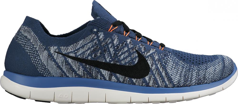Nike Free Flyknit 4.0 Herren Blau
