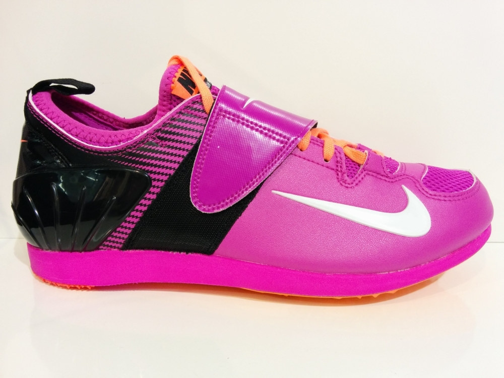 the best attitude 9b144 f3295 pink nike zoom pv spikes